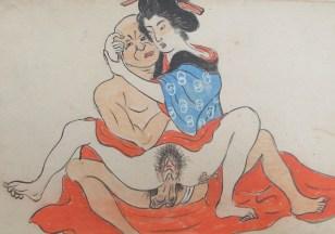 seks Stoeien met grote dildos in de vrije natuur