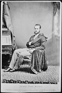 'Grand Duke Alexis', New York 1871, fotografie.