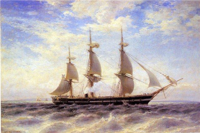 Svetlana op volle zee