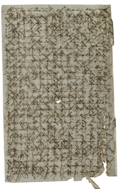 4de bladzijde brief 9 december 1856 (LaRC, Tulane University)